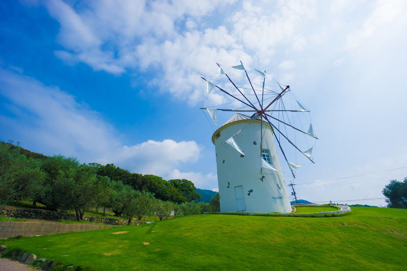 Shodoshima Olive Park, Greek windmill 2
