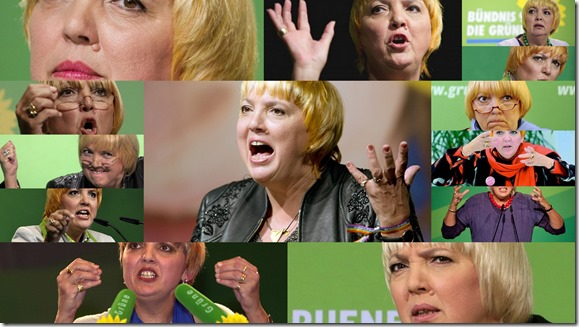 Claudia Roth Collage