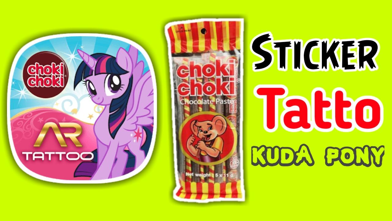 Nafis WQ  Mainan Anak Murah Tato Sticker My Little Pony Di Dalam ... 50b9fe13ca
