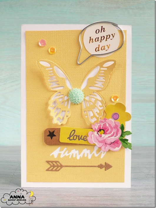 Cafe Creativo: [#Cardmaking] Giallo come colore predominante