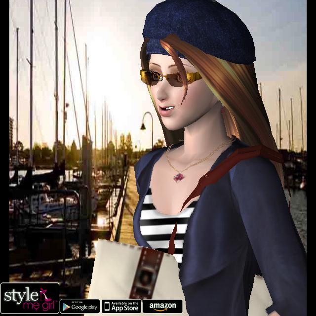 Style Me Girl Level 24 - Nautical - Annie
