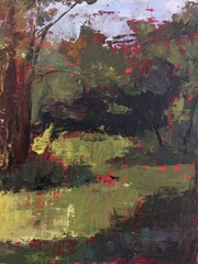 Plein Air Abstract Landscape