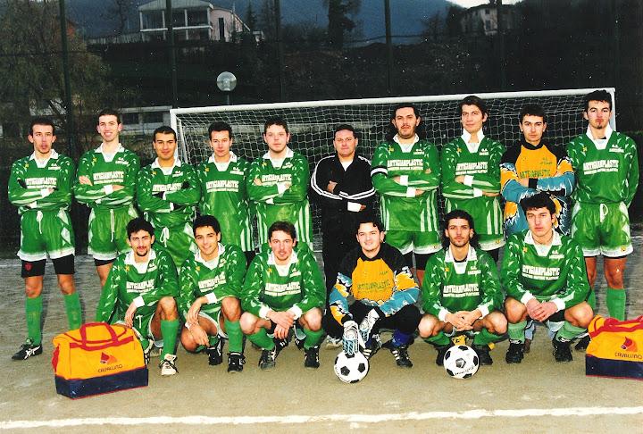 Foto scattata nel campo sportivo di Entratico il 6 dicembre 1997.