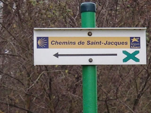 En Alsace, es chemins sont balisés