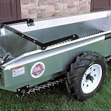 The Millcreek 37+ Compact manure spreader has a heaped capacity of 37 cu. ft.