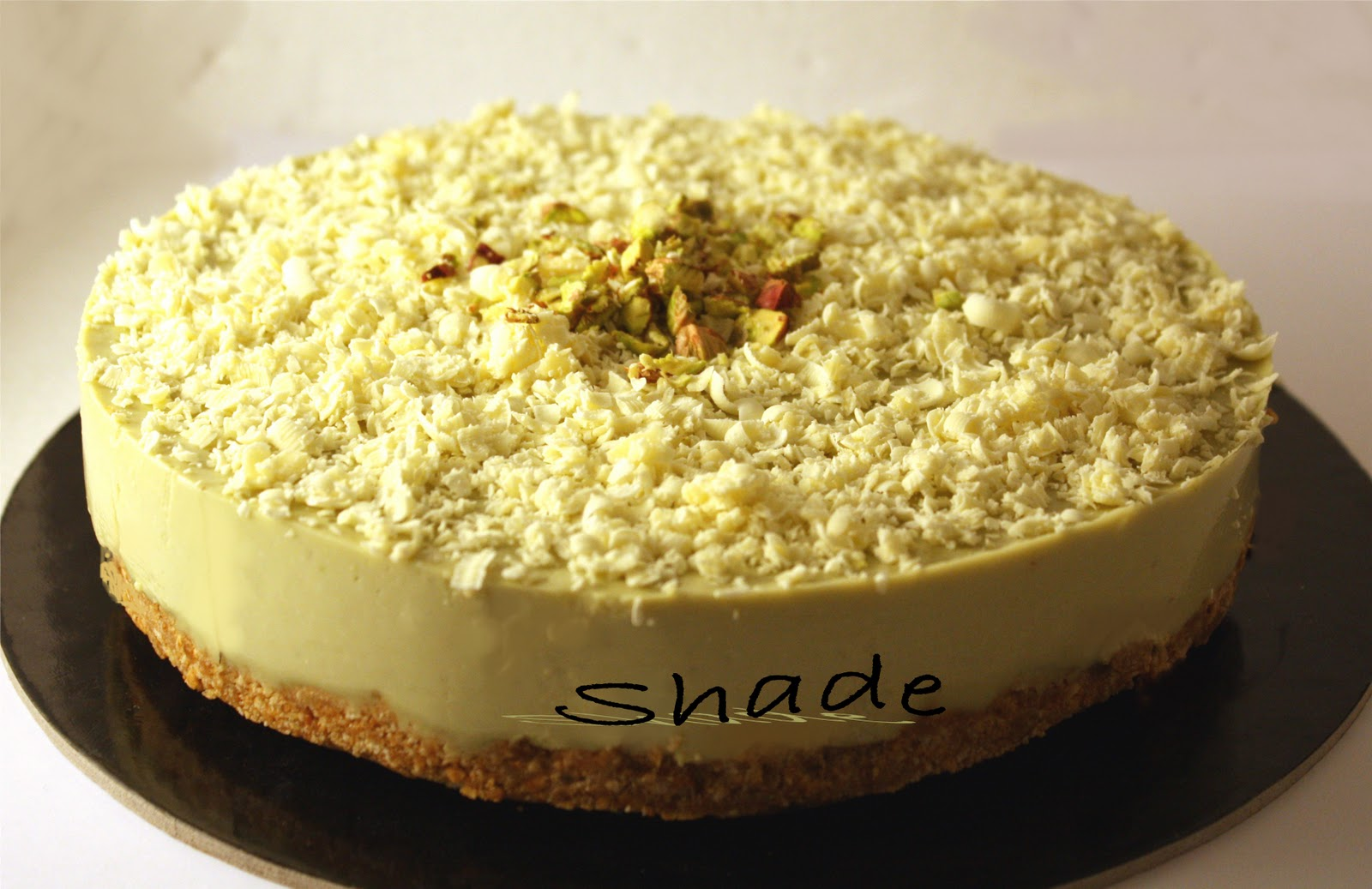 Estremamente BigShade: Cheesecake al pistacchio QY07