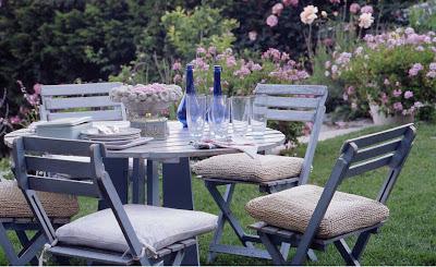 Country style chic shabby chic inspiration - Shabby chic giardino ...