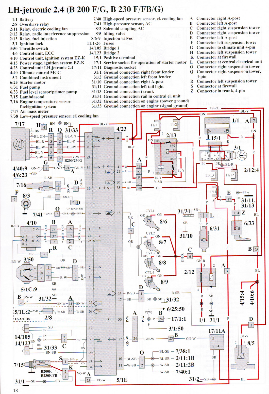 Wiring Diagram For 1990 Volvo 740 : Volvo fuel system free engine image for
