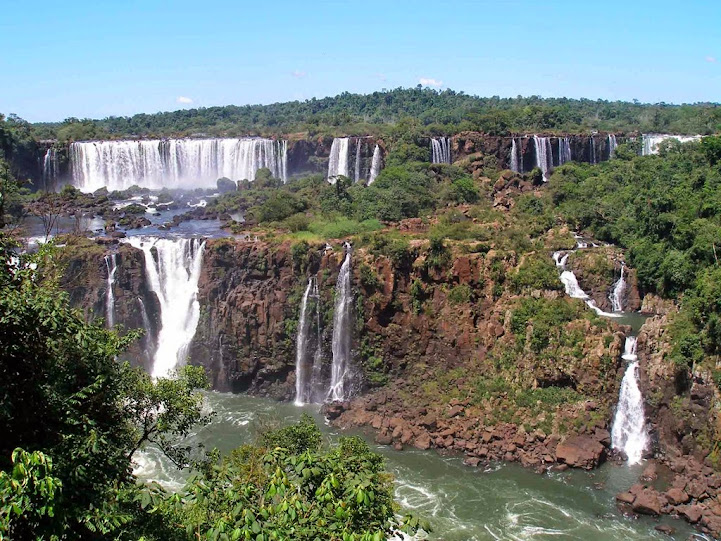 Cataratas Iguazu, lado brasileño