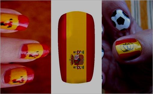 pintarse-las-uñas-con-la-bandera-de-españa-1