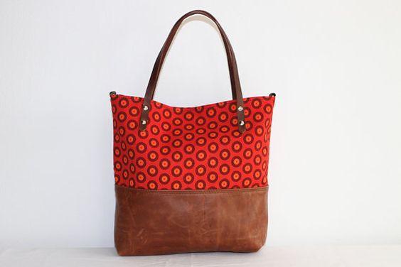 Shweshwe Print Tote Bag For Ladies 2020 2