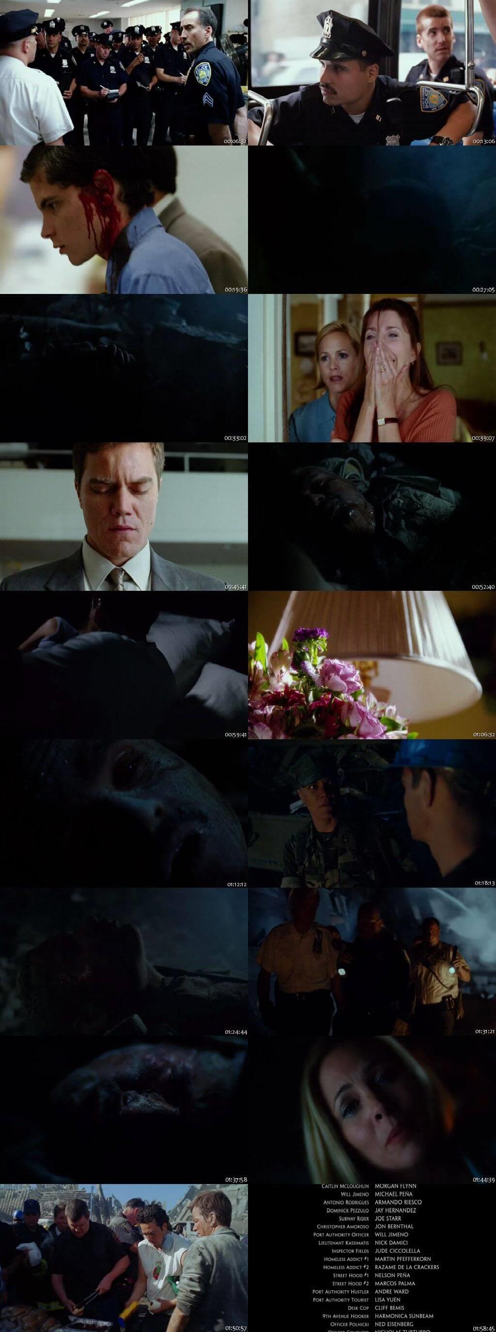 Screen Shot Of World Trade Center 2006 In Hindi English Dual Audio Bluray