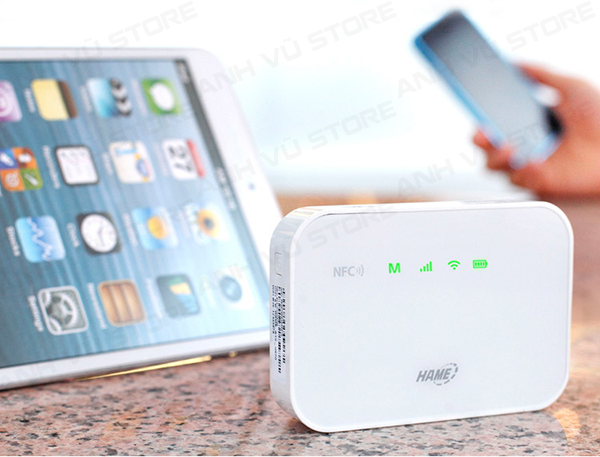 HAME A19 - Bộ Phát WiFi 3G - WiFi Di Động - Pin Sạc Dự Phòng - Router Wifi 3G Hame A19 02