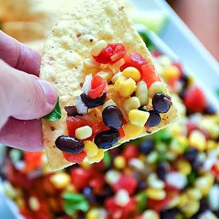 Corn and Black Bean Salsa.