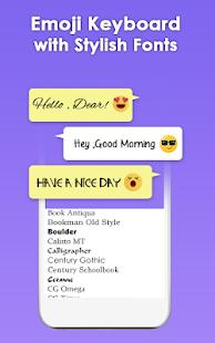 Download Emoji Keyboard- Funny Stickers, Cute Emoticons For PC Windows and Mac apk screenshot 3