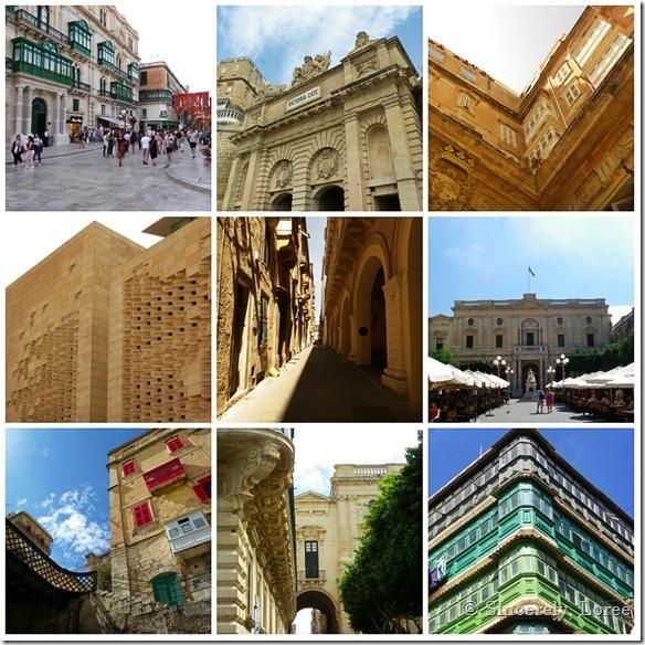 Valletta collage
