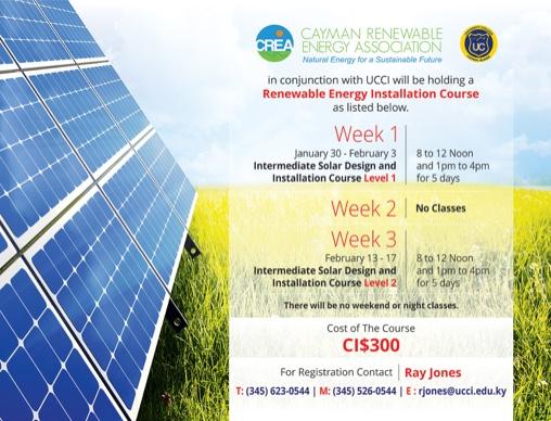 The Cayman Institute: CREA (Cayman Renewable Energy