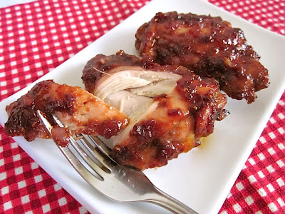 raspberry chipotle bbq chicken