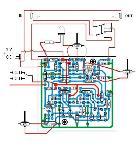 Schema Cablaggio Chitarra Elettrica : Schema costruzione chitarra elettrica fare di una mosca