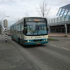 Wrightbus Commander bus 6261 van Arriva met lijn 1 naar Haven