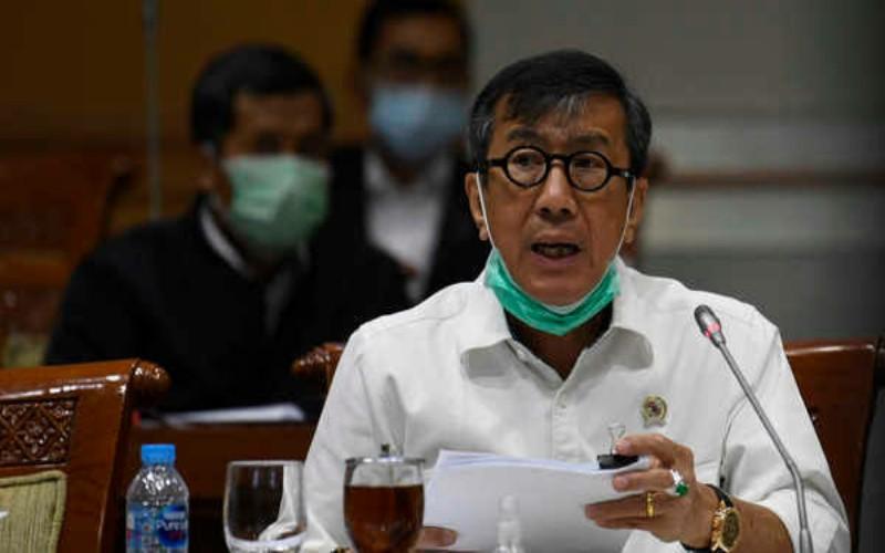 Yasonna Buka Suara Terkait Jendral Polri Terlibat Kasus Djoko Tjandra