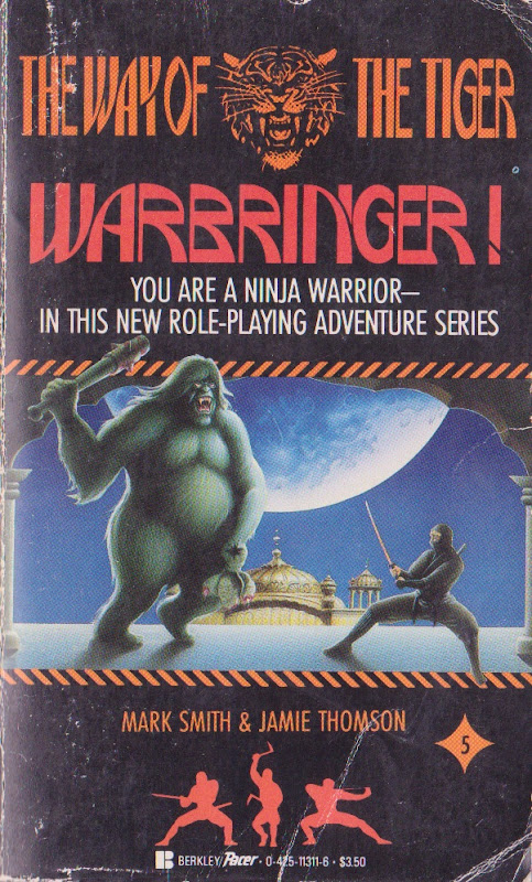 warbringer La Senda del Tigre, de Mark Smith y Jamie Thomson