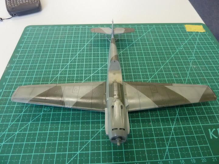 Bf-109 E-3 Tamiya 1/48 - Reforma pintura P1020490