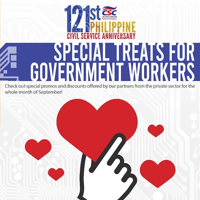 Special Treats for Government Workers