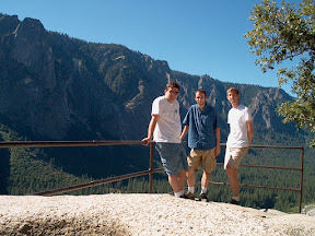 With Adam and Scott on the Yosemite Falls Trail