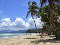 Peščena plaža v Sabangu
