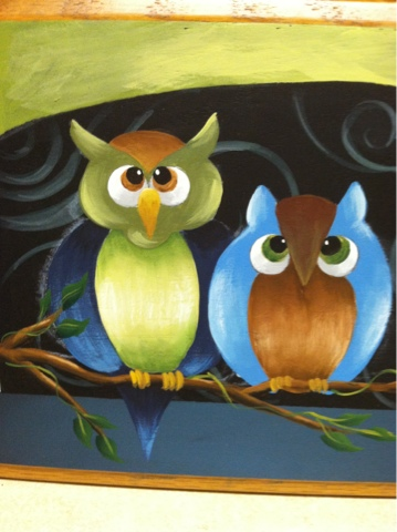 Tolentreasures Owl Painting Step By Step Free Painting Pattern