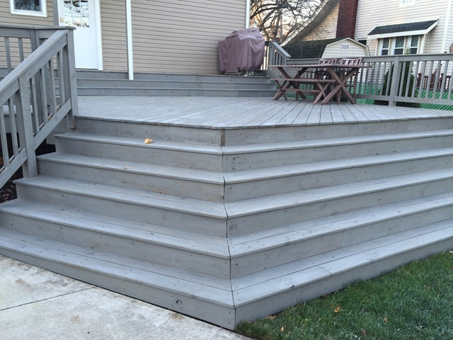 Weathered Gray Deck Stain 1