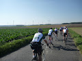 Riding across the Somme