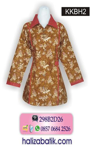 Batik Modern, Model Baju Terkini, Desain Baju Batik, KKBH2