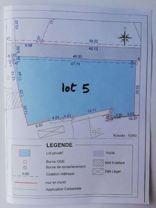 Vente terrain 1026 m2