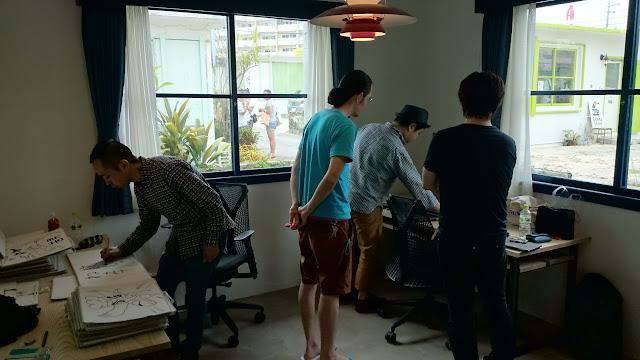 CN17 高速紙芝居「調味マスターリョウ」沖縄バージョン修正作業中