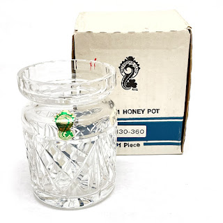 Waterford Crystal Honey Pot 1