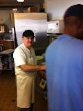 Ron Kaczmarek at the Inspiration Cafe