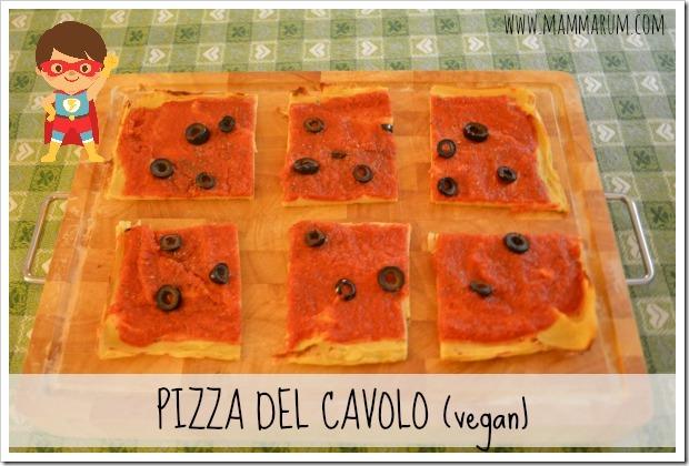 pizza cavolfiore vegan