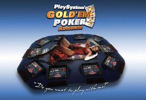 Goldem Poker Automata 3D modellezés, arculat, szórólap grafikai tervezés.
