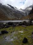Glacial Pond on Laguna 69 Trek (Cordilleras Mountains, Peru)