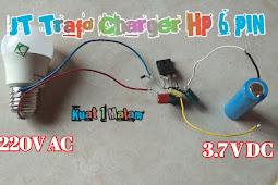 SEKEMA JT TRAFO CHARGER HP 6 PIN DI JAMIN BYOR