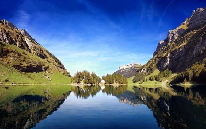 Seealpsee - Late Summer in Switzerland by Dominic Kamp1