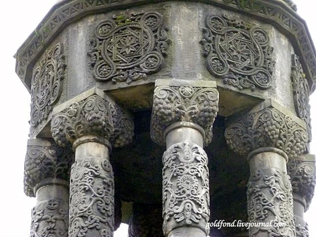Резной узор башенки