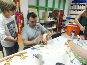 Photo: Projeto na EBI de Santo Onofre