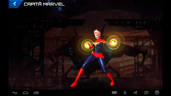 Capitã Marvel - Moderno