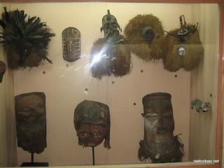 Des oeuvres d'art exposées aux  musées nationaux du Congo. Ph/radiookapi.net
