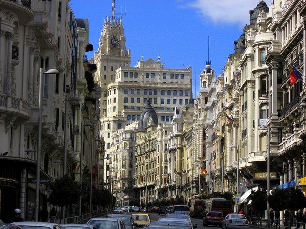 Gran Via Мадрид