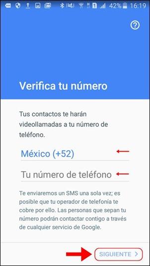 Abrir mi cuenta Google Duo - 559