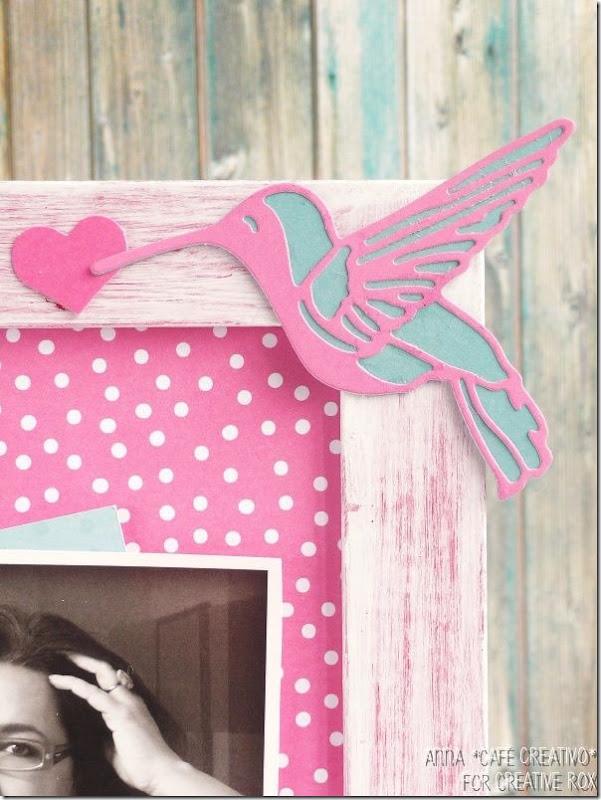 Fai da te Festa della Mamma Cornice personalizzata con Fustelle